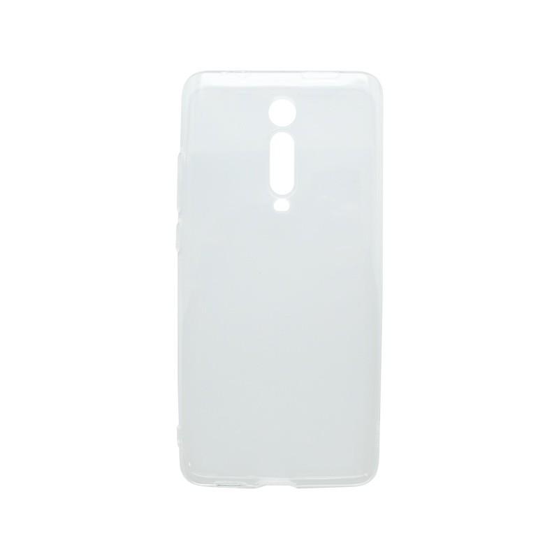 Silikónové puzdro Xiaomi Mi 9T, transparentné, nelepivé
