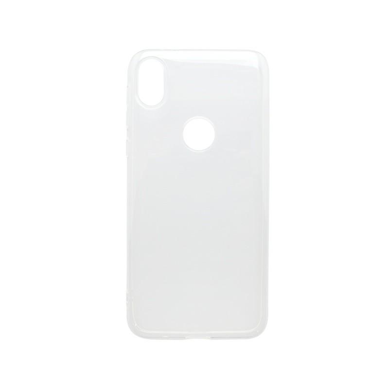 Silikónový kryt Moto E6, transparentný, nelepivý