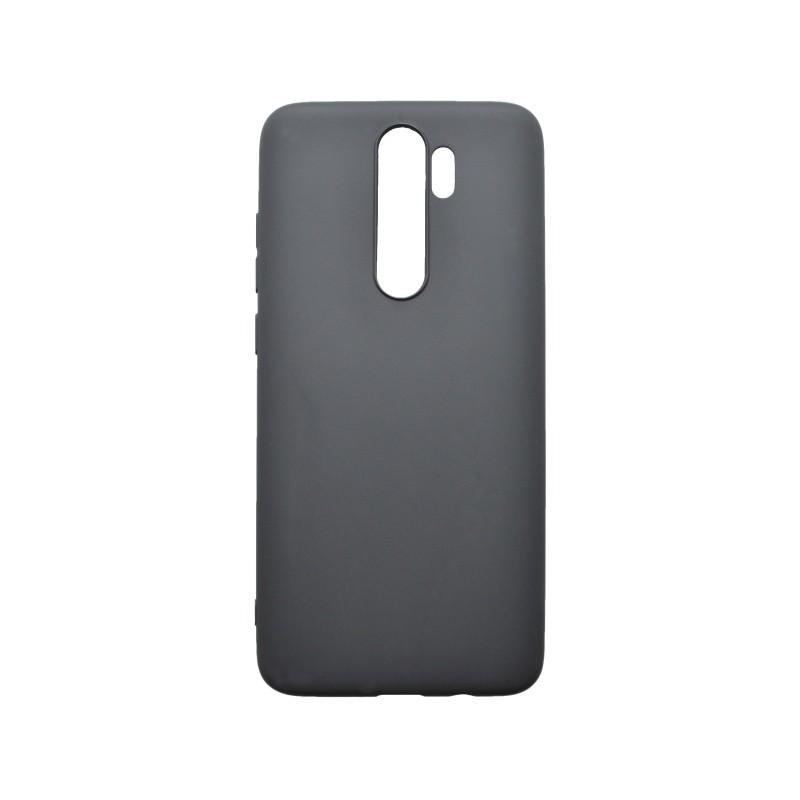 Matné gumené puzdro Xiaomi RedMi Note 8 Pro čierne
