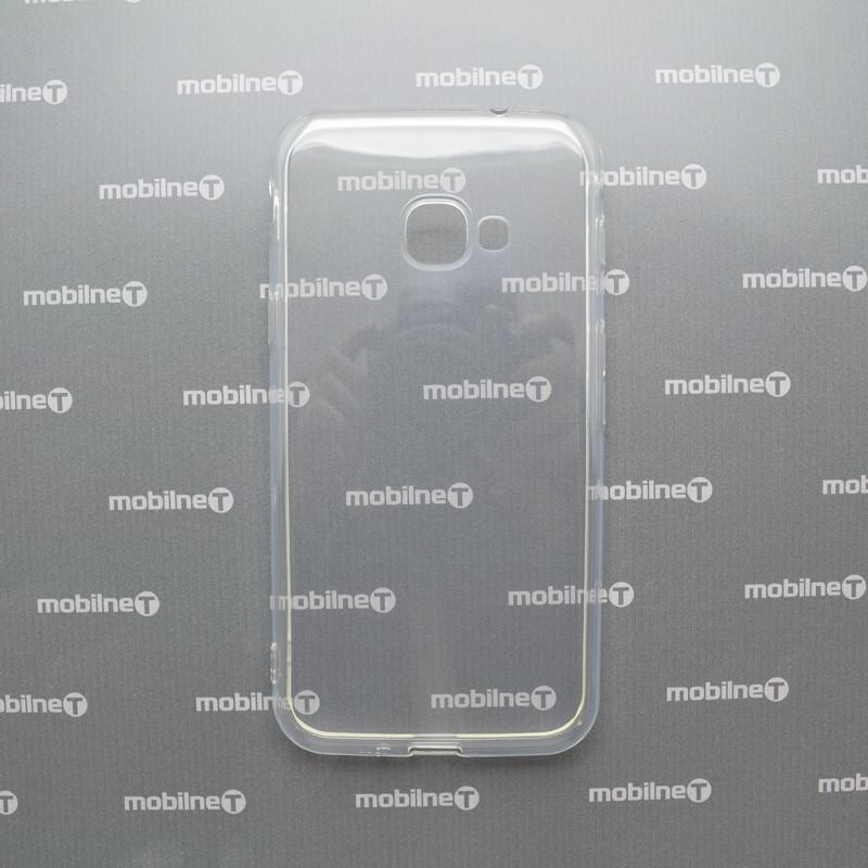 mobilNET silikónové puzdro Samsung Galaxy Xcover 4s priehľadné, nelepivé