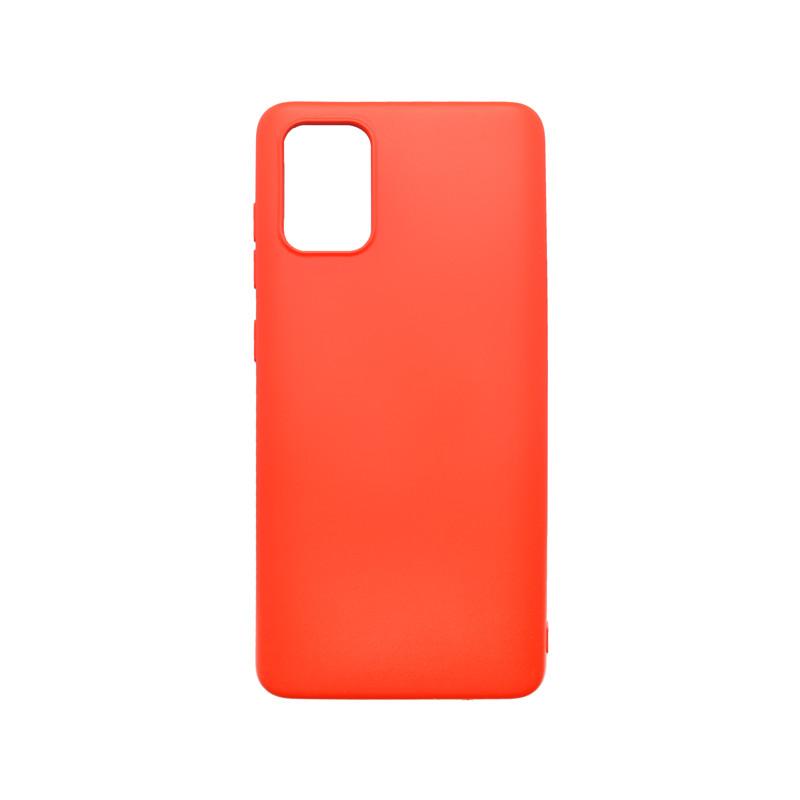 mobilNET silikónové puzdro Soft, Samsung Galaxy A51 červený