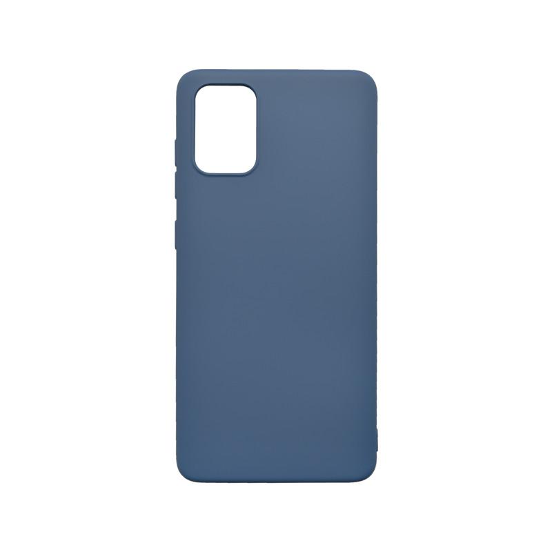 mobilNET silikónové puzdro Soft, Samsung Galaxy A51 tmavomodré