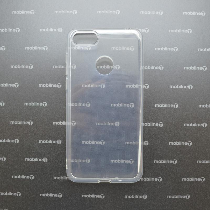 mobilNET silikónové puzdro Moto E6 Play priehľadné, nelepivé