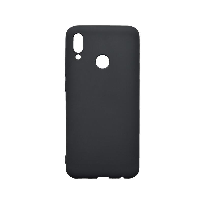 Huawei P Smart 2020 čierne matné gumené puzdro