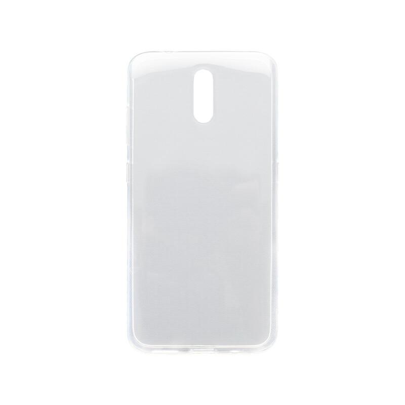 mobilNET Nokia 2.3 priehľadné gumené puzdro, nelepivé
