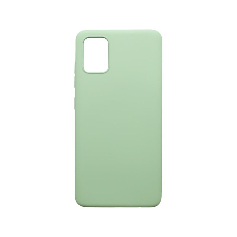 mobilNET silikónové puzdro Soft, Samsung Galaxy A51 mentolové