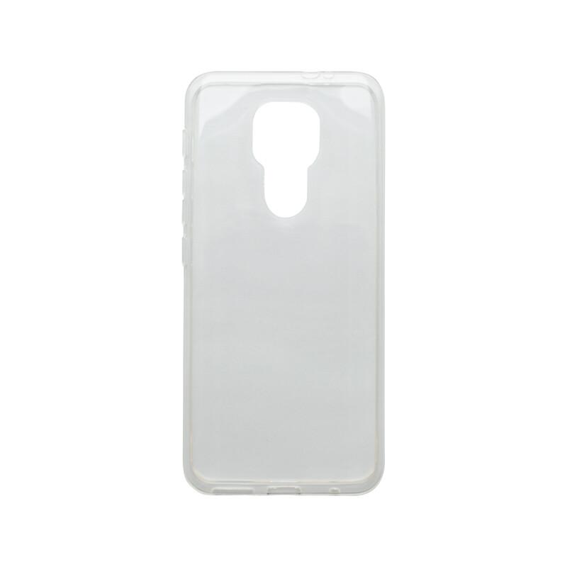 Motorola G9 priehľadné silikónové puzdro, nelepivé