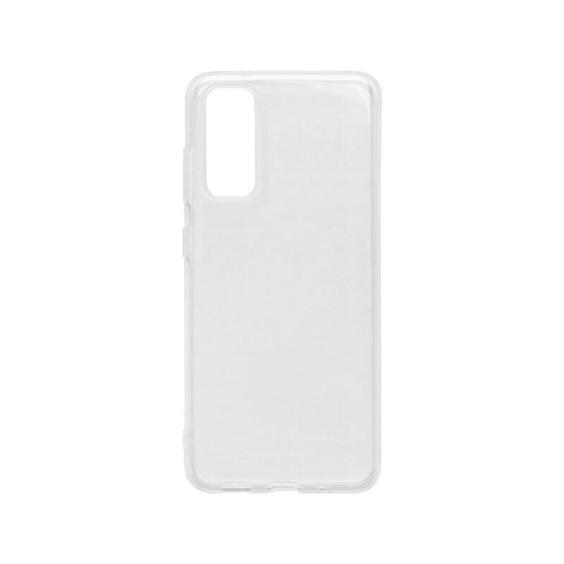 mobilNET Realmi 7 priehľadné silikónové puzdro, nelepivé