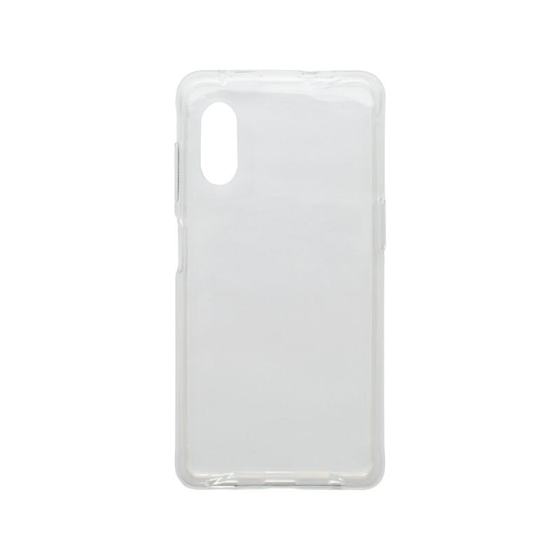 mobilNET Samsung Galaxy Xcover Pro priehľadné silikónové puzdro, nelepivé