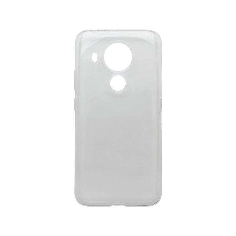 mobilNET Nokia 5.4 gumené puzdro, priehľadné Moist