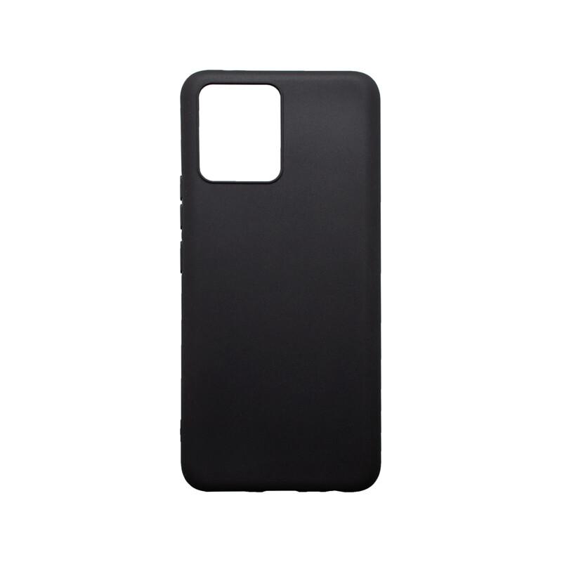mobilNET silikónové puzdro Realme 8 čierne