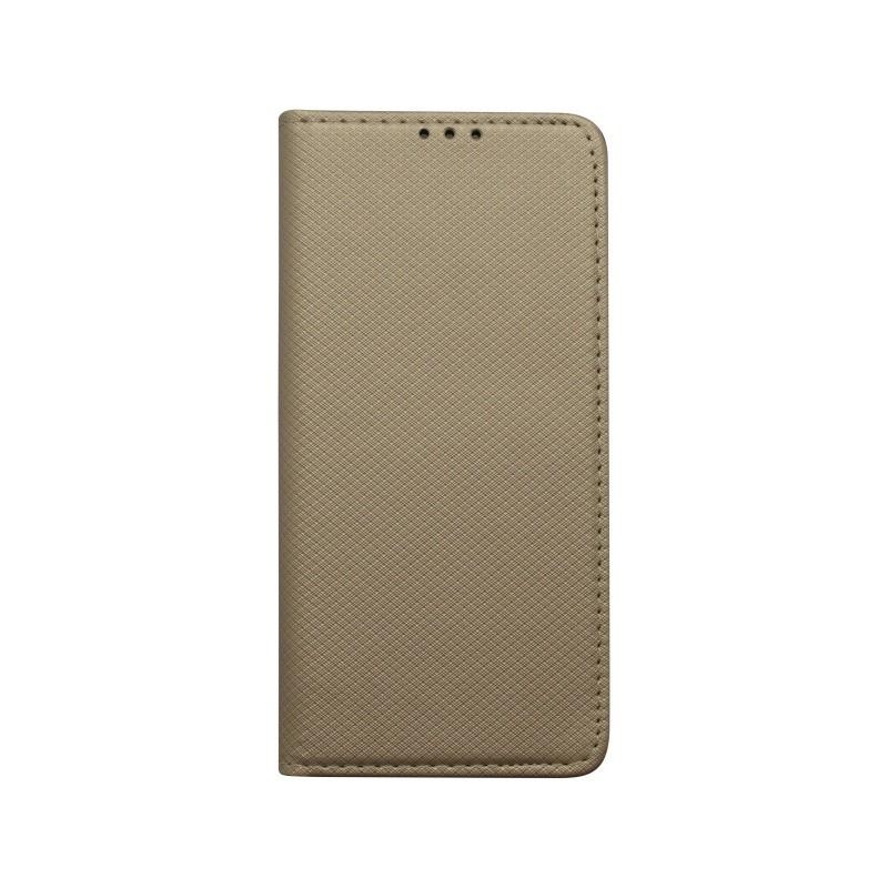 Knižkové puzdro Samsung Galaxy S10 Plus zlaté, vzor