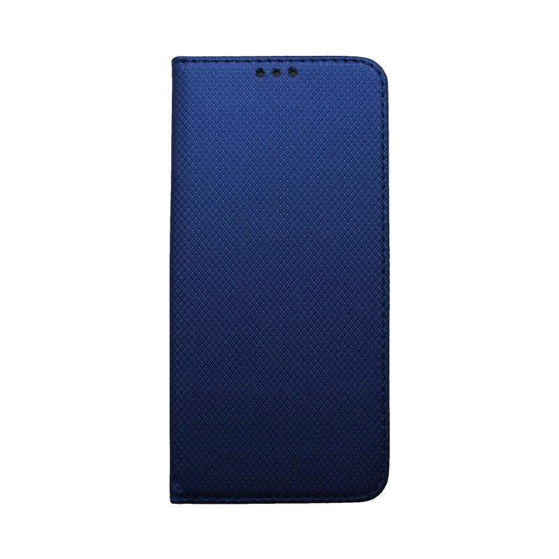 Knižkové puzdro Samsung Galaxy A50 tmavomodré, vzorované