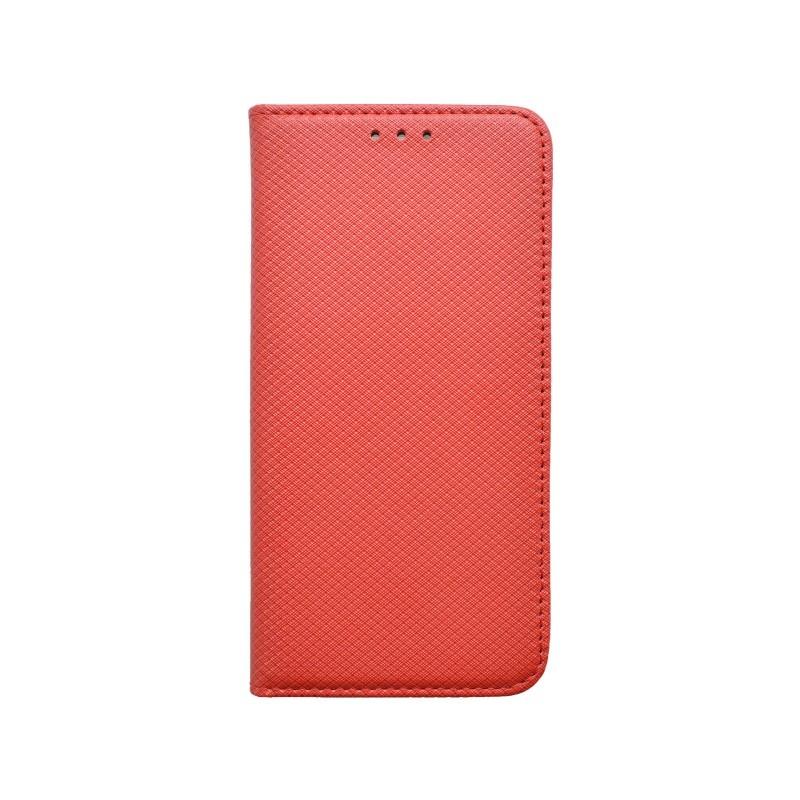 Knižkové puzdro iPhone 6 červené, vzorované