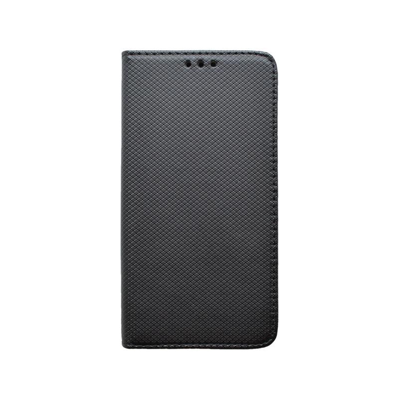 Knižkové puzdro Samsung Galaxy A70 čierne, vzorované