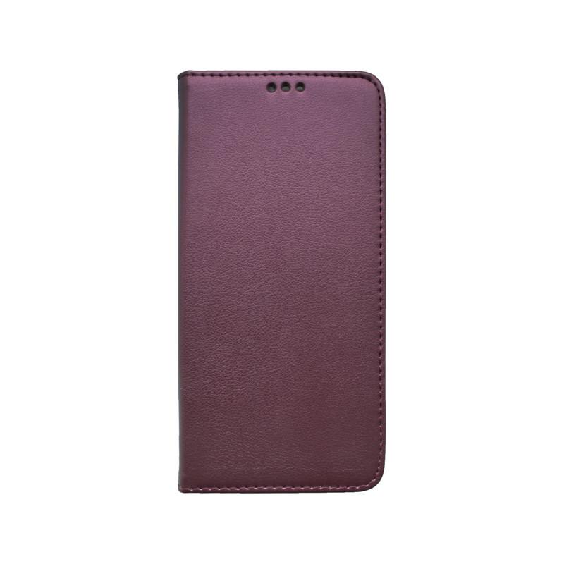 Knižkový obal na mobil Smart Samsung Galaxy A51 bordový
