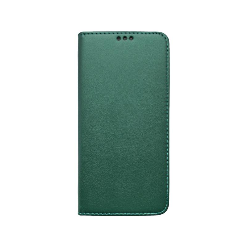 Knižkové puzdro Smart Samsung Galaxy A51 tmavozelené