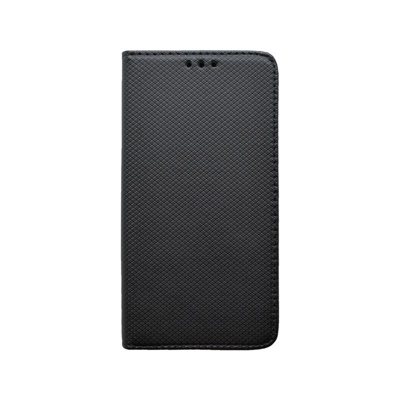 Huawei P40 Lite E čierna bočná knižka, vzorovaná