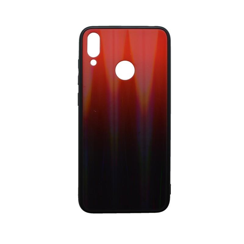 Plastové puzdro Gradient Huawei Y7 2019 červené