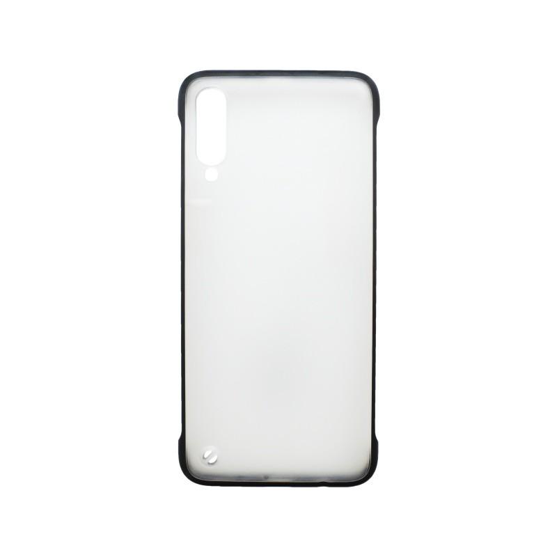 Plastové puzdro Frameless Samsung Galaxy A70 čierne