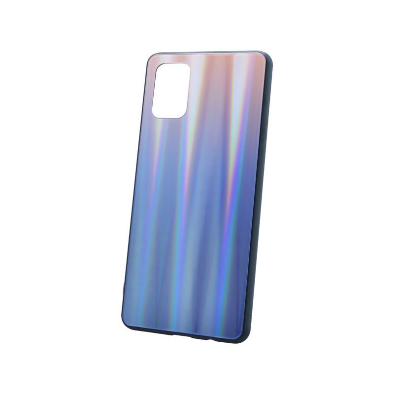 Plastový kryt na telefón Aurora Samsung Galaxy A71 hnedo-čierny