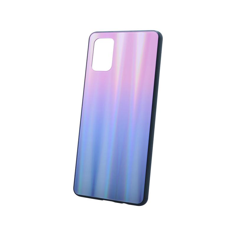 Plastový kryt na telefón Aurora Samsung Galaxy A71 ružovo-čierny