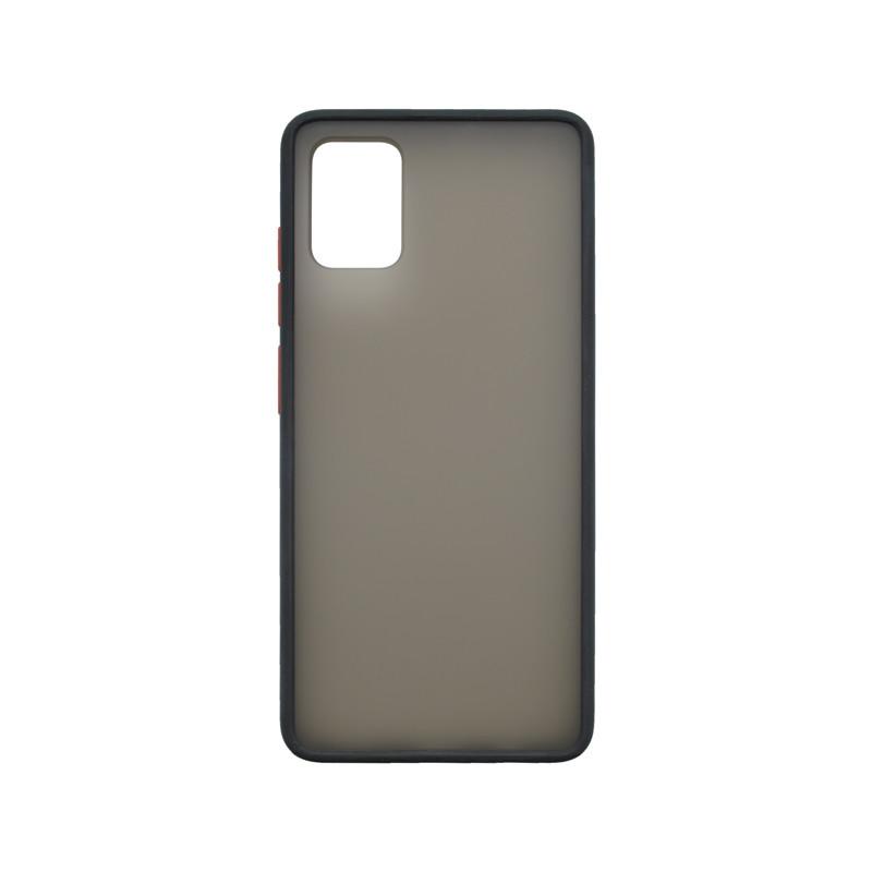 mobilNET plastové puzdro pre Samsung Galaxy A51, čierne, Season