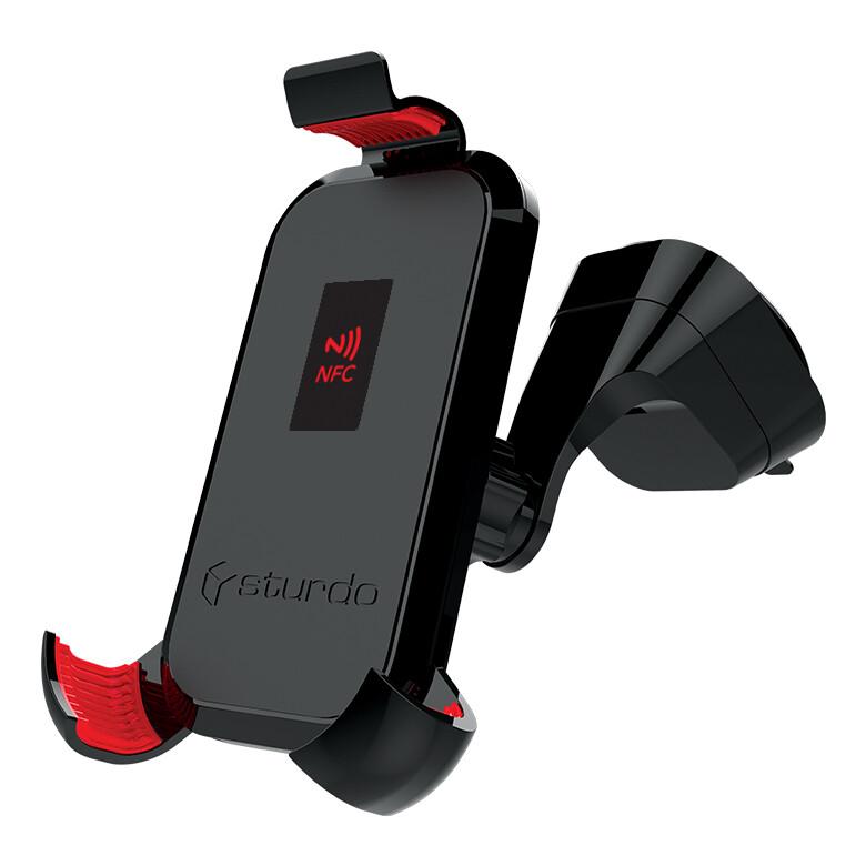 Sturdo Pro Sport držiak na mobil do auta + NFC, čierny