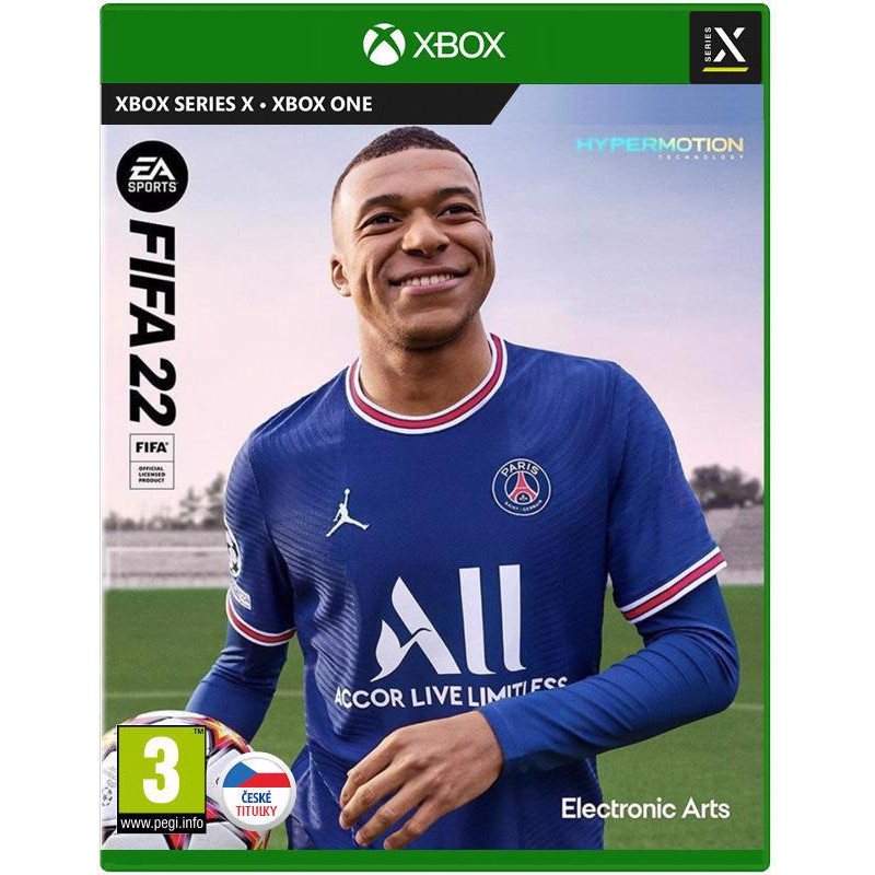 XBOX ONE/SERIES X FIFA 22 CZ TITULKY