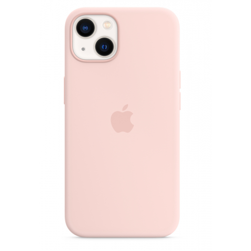 APPLE IPHONE 13 SILICONE CASE WITH MAGSAFE - CHALK PINK MM283ZM/A