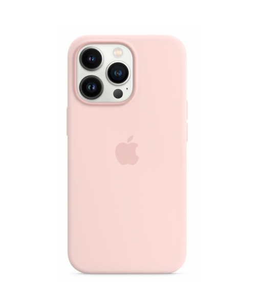 APPLE IPHONE 13 PRO SILICONE CASE WITH MAGSAFE - CHALK PINK MM2H3ZM/A