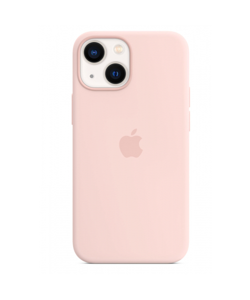 APPLE IPHONE 13 MINI SILICONE CASE WITH MAGSAFE - CHALK PINK MM203ZM/A