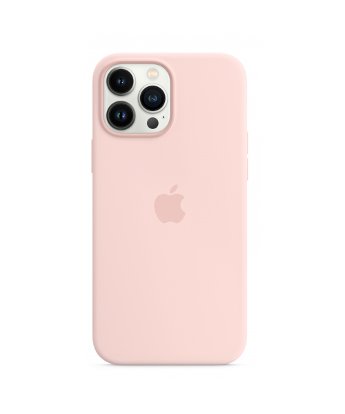 APPLE IPHONE 13 PRO MAX SILICONE CASE WITH MAGSAFE - CHALK PINK MM2R3ZM/A