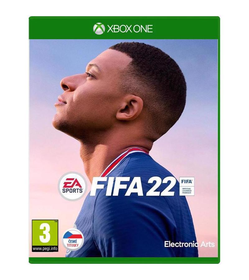 XBOX ONE FIFA 22 CZ TITULKY