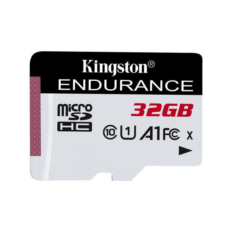 KINGSTON 32GB MICROSDHC ENDURANCE CL10 A1 95R/45W SDCE/32GB
