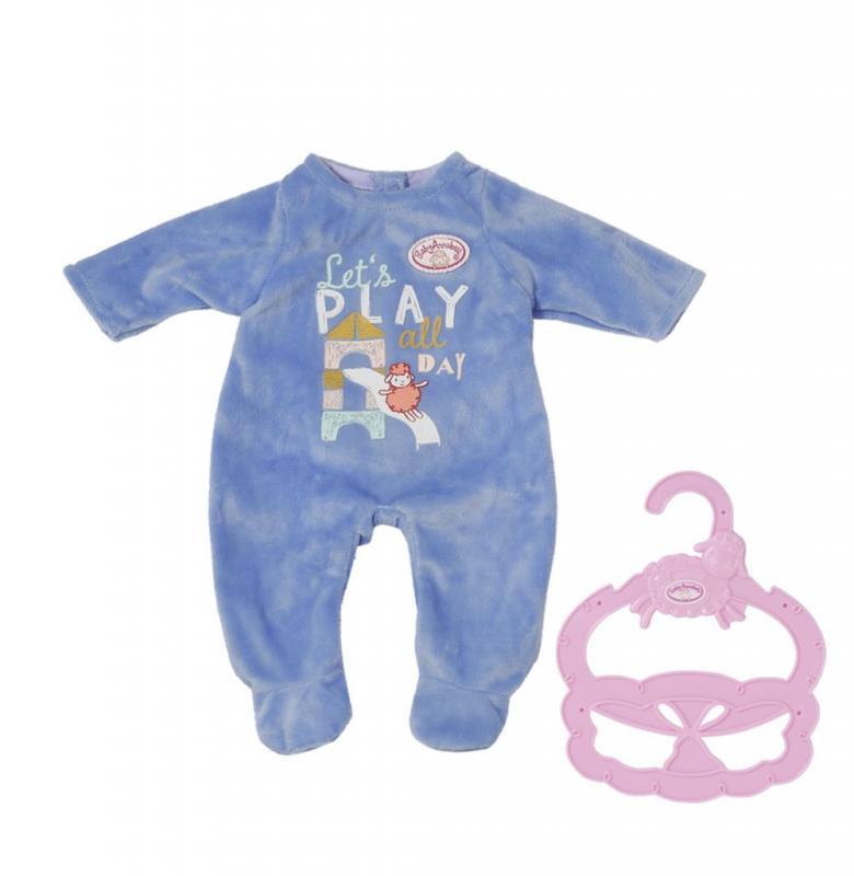 ZAPF CREATION BABY ANNABELL LITTLE DUPACKY MODRE, 36 CM