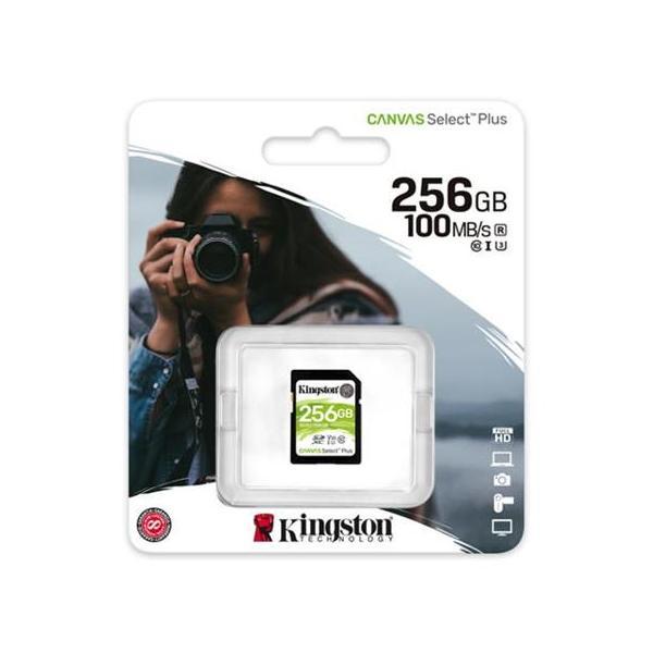 KINGSTON 256GB SDXC U3 V30 CL10 100MB/S SDS2/256GB
