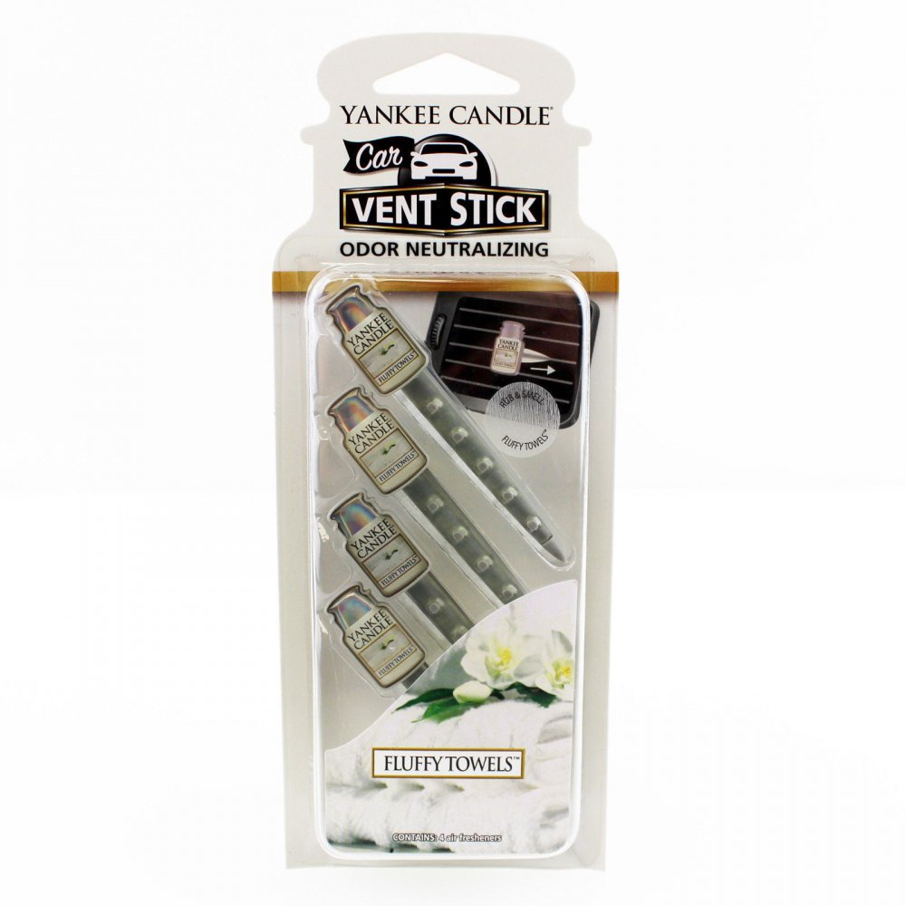 YANKEE CANDLE 1207038 VONA DO AUTA FLUFFY TOWEL/VENT STICK