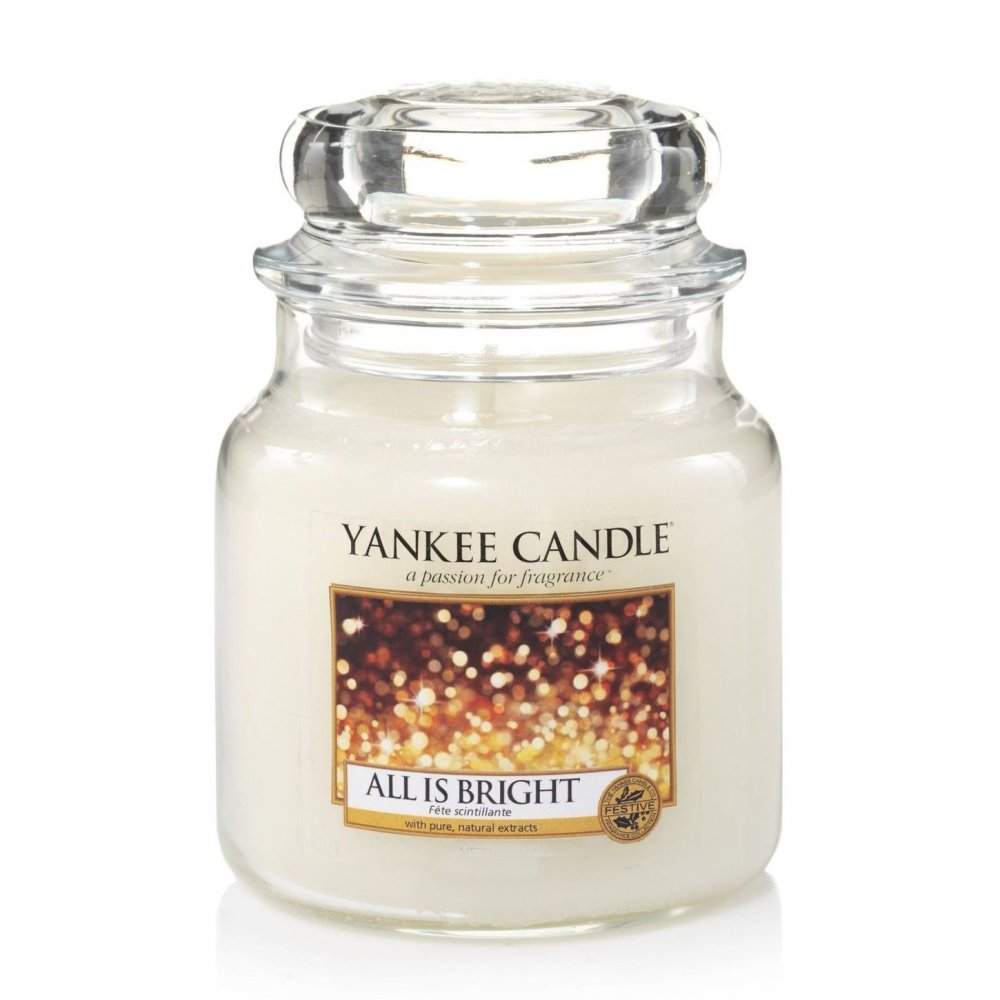 YANKEE CANDLE 1513534E SVIECKA ALL IS BRIGHTSTREDNA