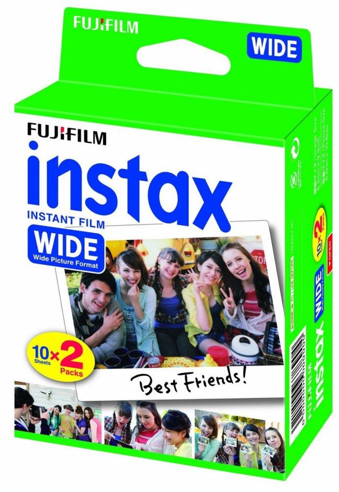 FUJIFILM INSTAX WIDE INSTANT FILM 10X2 PACKS