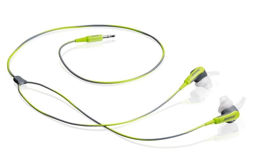 BOSE SIE2 SPORT HEADPHONES GREEN