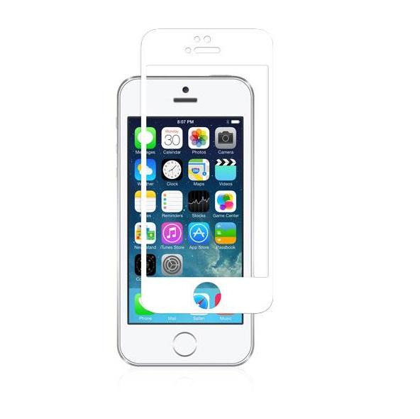 MOSHI IVISOR GLASS FOR IPHONE 5/5S/5C WHITE