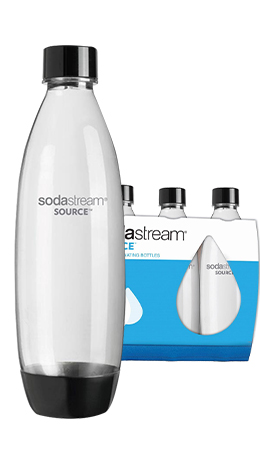 SODASTREAM FLASA TRIPACK 1L CIERNA SOURCEPLAY