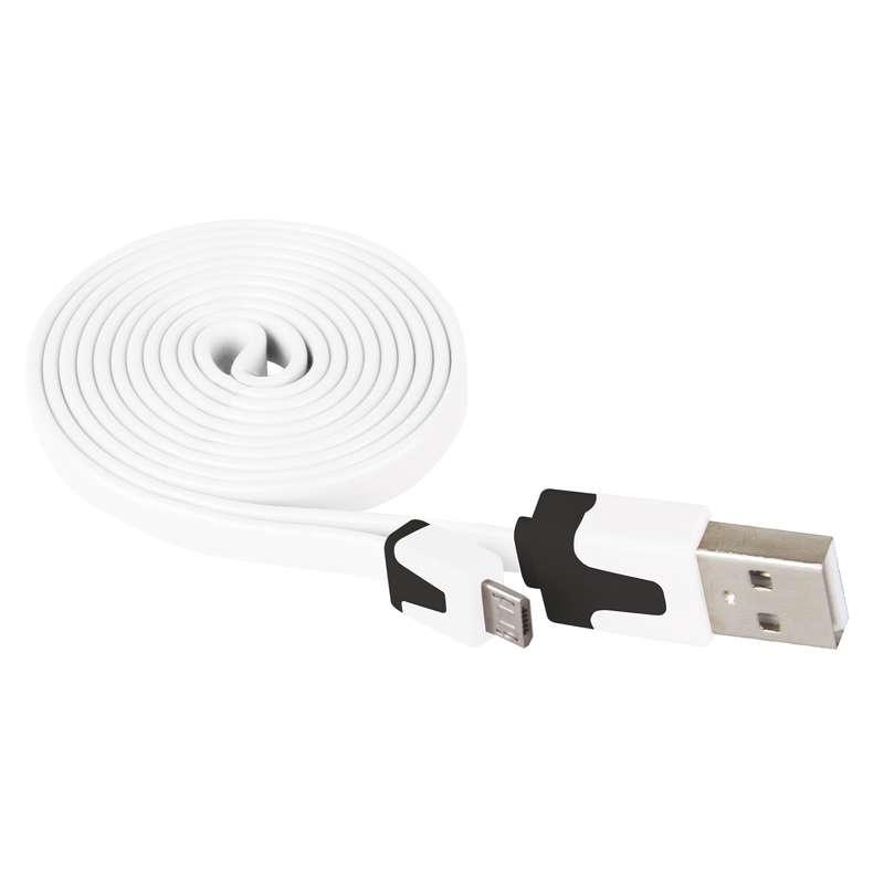 EMOS SM7001W KABEL USB 2.0 A/M - MICRO B/M 1M BIELY