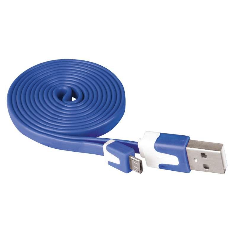 EMOS SM7001B KABEL USB 2.0 A/M - MICRO USB/M 1M MODRY