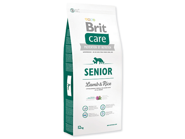 BRIT CARE SENIOR LAMB & RICE 12 KG (294-132715)