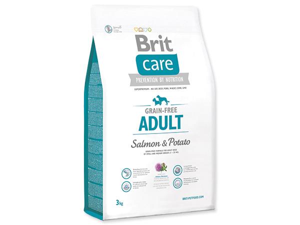 BRIT CARE GRAIN-FREE ADULT SALMON & POTATO 3 KG (294-132725)
