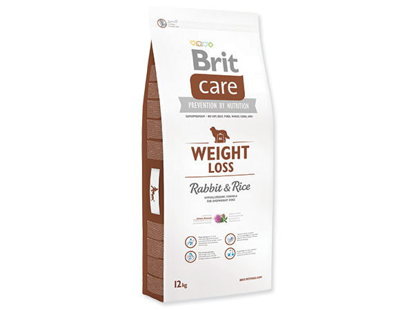BRIT CARE WEIGHT LOSS RABBIT & RICE 12 KG (294-132736)