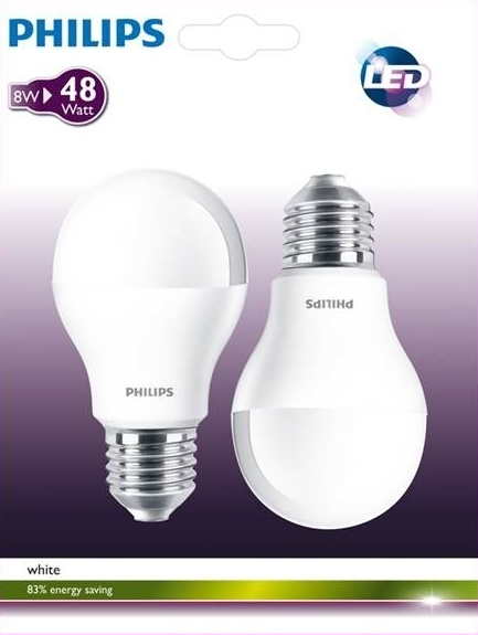 PHILIPS LED 48W E27 WW 230V A60 FR BC6 ZIAROVKA