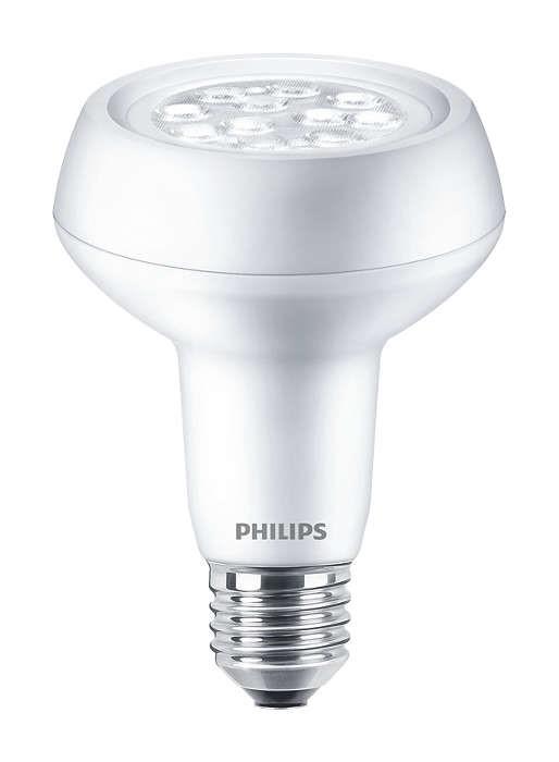 PHILIPS COREPRO LEDSPOT R63 2.7-40W E27 827 36D ND